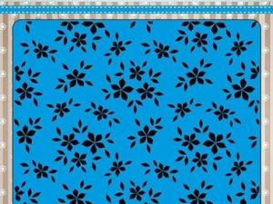 EEB019 Nellie Snellen Embossingfolder Small Flowers-0