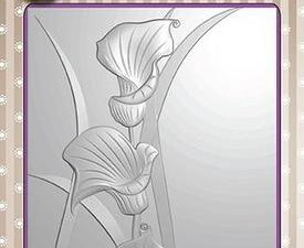 EF3D004 Nellie Snellen 3D Embossing Folders Arums-0