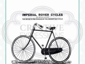 CEASRS006 Creative Expressions Andy Skinner Stempel, Imperial Rover Cycles-0
