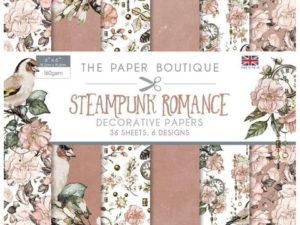 PB1206 The Paper Boutique, papirsblok, Steampunk Romance-0