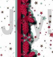 6002/1230 JOY Die Cut Jingle Bells, Guirlande Border-0