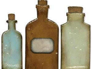 658715 Sizzix Die Tim Holtz Bigz Apothecary Bottles-0
