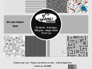BLP009 By Lene papirblok, Tools-0