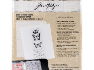 CH93823 Tim Holtz Storage Studios Stamp Storage Binder-0