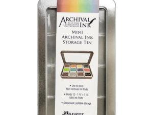 AIMA58434 Ranger Tim Holtz Distress Archival Mini Ink Storage Tin-0