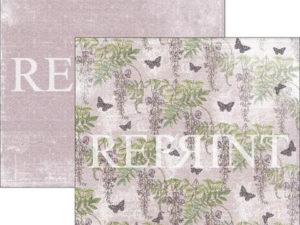 RP0267 Reprint Designpaper 30x30, Lilac Paris Collection, Wisteria-0