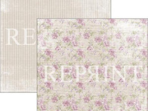 RP0274 Reprint Designpaper 30x30, Lilac Paris Collection, Roses-0