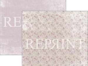 RP0275 Reprint Designpaper 30x30, Lilac Paris Collection, Small Roses-0