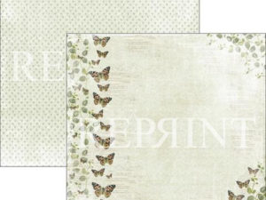 RP0277 Reprint Designpaper 30x30, Summer Time, Butterflies-0