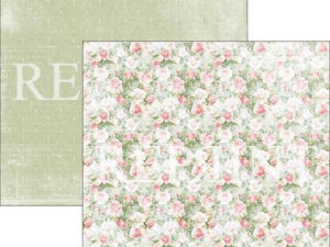 RP0279 Reprint Designpaper 30x30, Summer Time, My Rose Garden-0