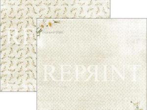 RP0285 Reprint Designpaper 30x30, Summer Time, Daisies-0