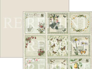 RP0286 Reprint Designpaper 30x30, Summer Time, Tags 2-0