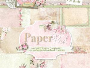 PPLM123 Studiolight Papirblok, Lovely Momenta-0