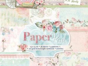 PPLM124 Studiolight Papirblok, Lovely Momenta-0