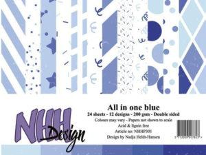 NHHP301 NHH Design, All in one - Blue-0