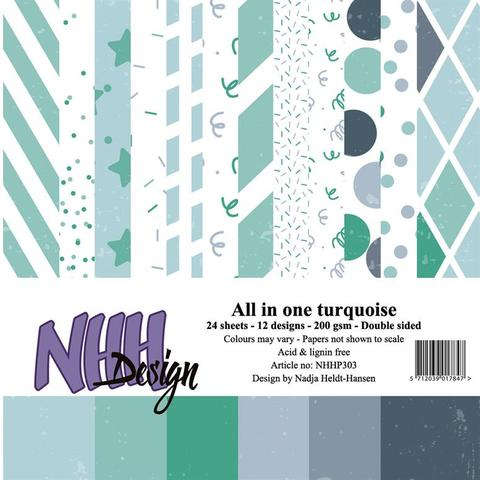 NHHP303 NHH Design, All in one - Turqouise-0