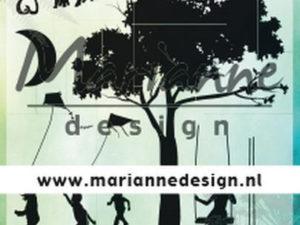 CS1032 Marianne Design Stempel Silhouette Summer Romance-0