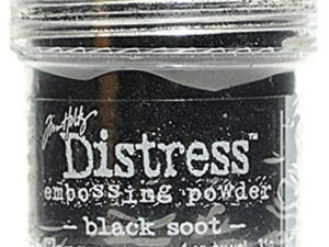 TIM21094 Ranger Tim Holtz Distress Embossing Powder, Black Soot-0