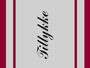 """67002 Felicita Design Stempel """"Tillykke""""-0"""