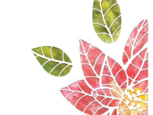 664212 Sizzix Die Tim Holtz Thinlits, Poinsettia Pieces-0