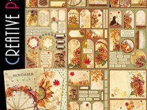 CBCL023 Ciao Bella Paper A4, The Sound Of Autumn-0