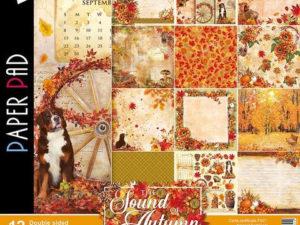 CBPM023 Ciao Bella Paper 30,5x30,5 cm, The Sound Of Autumn-0
