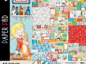 CBPM025 Ciao Bella Paper 30,5x30,5 cm, Zoe & Ziggy-0