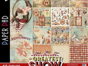 CBPM027 Ciao Bella Paper 30,5x30,5 cm, The Greatest Show-0