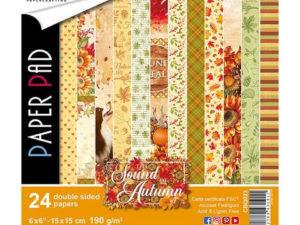 CBQ023 Ciao Bella Paper Pad 15 X 15 cm, Sound of Autumn -0