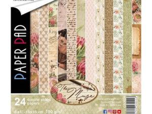 CBQ028 Ciao Bella Paper Pad 15 X 15 cm, The Muse-0