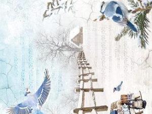 CBRP056 Ciao Bella Piuma Rice Paper A4, The World Changes When It Snows-0