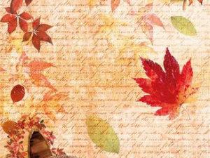 CBRP060 Ciao Bella Piuma Rice Paper A4, Sweet October-0