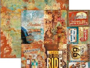CBSS086 Ciao Bella 30x30, Rusted Cards-0