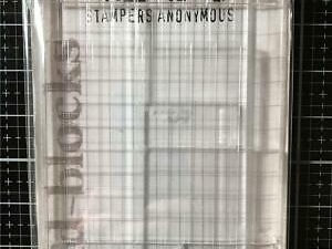 522173 Stampers Anonymous Tim Holtz Collected, Grid Blocks 9 stk.-0