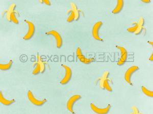 10.1369 Alexandra Renke Designpaper 30x30, 'PopSommer Banana'-0