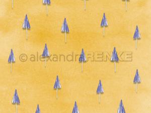 10.1372 Alexandra Renke Designpaper 30x30, 'PopSommer parasol'-0