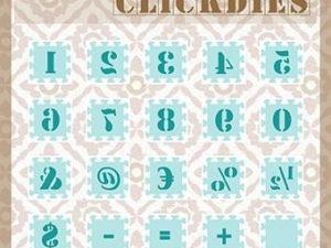 SCCD003 Nellie Snellen Die Click Dies, Numbers & Punctuation Marks-0