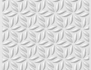 "EF3D-015 Creative Expressions 3D Embossing Folders, ""Stylised Poinsettia""-0"