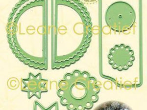 45.6203 Leane Creatief Die Cut/emb Christmas Ornament (Ball) Wave-0