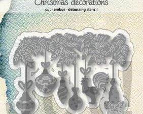 """6002/1346 JOY Die Cut/EMB """"Christmas Deco""""-0"""