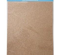 CA3145 Marianne Design, A4 Soft Glitter Paper - Bronze-0