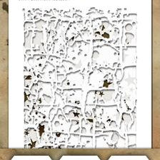 THMST043 Tim Holtz Stampers Anonymous Stencil Mini Stencil Set #43-0