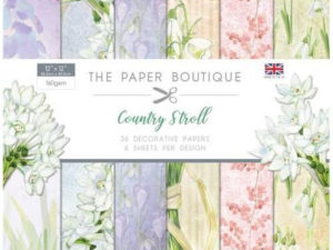 PB1121 The Paper Boutique, papirsblok 30x30, Country Stroll-0