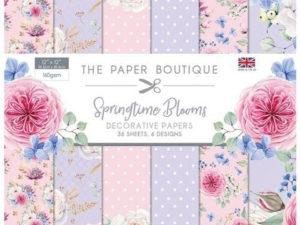 PB1180 The Paper Boutique, papirsblok 30x30, Springtime Blooms-0