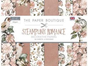PB1208 The Paper Boutique, papirsblok 30x30, Steampunk Romance-0