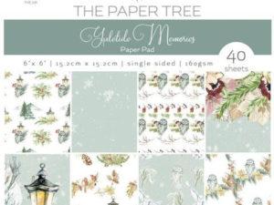 PTC1023 The Paper Tree, papirsblok, Yuletide Memories-0