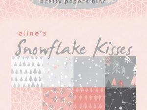 PB7057 Marianne Design Papirblok, Eline's Snowflakes Kisses-0