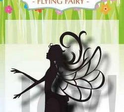 6410/0486 JOY Stempel Clear stamps Little Happiness Flying Fairy-0