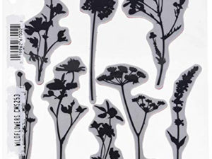 CMS253 Stampers Anonymous Tim Holtz Wildflowers-0