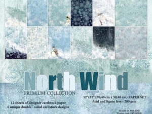 CPS-NW30 Craft & You 30x30 Papir, North Wind-0